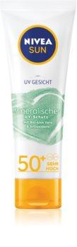 Nivea Sun Mineral Face Sun Cream  SPF 50+
