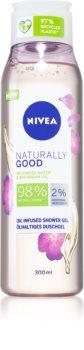 Nivea Naturally Good душ гел  с арганово масло