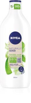 Nivea Naturally Good hydratační tělové mléko s aloe vera