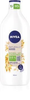 Nivea Naturally Good vyživující tělové mléko