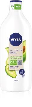 Nivea Naturally Good testápoló tej avokádóval