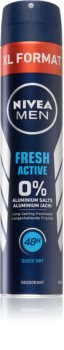 Nivea Men Fresh Active Deodorant Spray fara continut de aluminiu