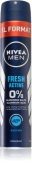 Nivea Men Fresh Active дезодорант в спрей без алуминий