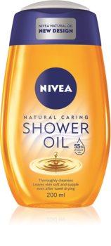 Nivea Natural Oil huile de douche pour peaux sèches