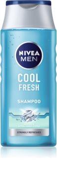 Nivea Men Cool шампоан  за нормална към омазняваща се коса