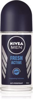 Nivea Men Fresh Active Antiperspirant roll-on   til mænd