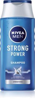 Nivea Men Strong Power подсилващ шампоан