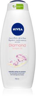 Nivea Diamond & Argan Oil krémový sprchový gel maxi