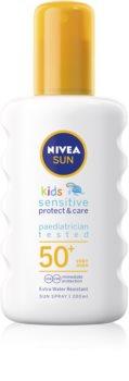 Nivea Sun Kids spray pentru protectie solara pentru copii SPF 50+