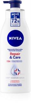 Nivea Repair & Care lait corporel régénérant pour peaux ultra-sèches