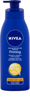 Nivea Q10 Plus zpevňující tělové mléko pro suchou pokožku