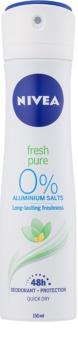Nivea Fresh Pure desodorante en spray