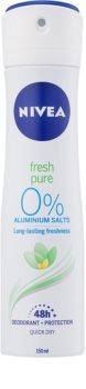Nivea Fresh Pure Spray deodorant