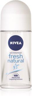 Nivea Fresh Natural anti-transpirant roll-on