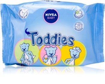 Nivea Baby Toddies почистващи кърпички за деца