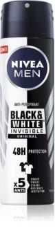 Nivea Men Invisible Black & White antiperspirant ve spreji pro muže