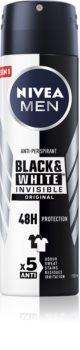 Nivea Men Invisible Black & White antitranspirante em spray para homens