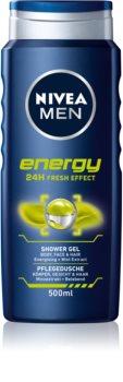 Nivea Men Energy Suihkugeeli Kasvoille, Vartalolle ja Hiuksille
