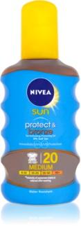 Nivea Sun Protect & Bronze Droge Olie voor Bruinen SPF 20