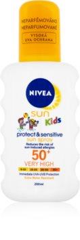 Nivea Sun Kids dětský sprej na opalování SPF 50+