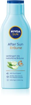 Nivea Sun After Sun & Bronze мляко след загар  удължаващ загара