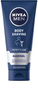 Nivea Men Protect & Care gel para la depilación corporal