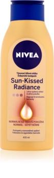 Nivea Sun-Kissed Radiance mlijeko za toniranje