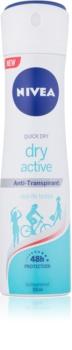 Nivea Dry Active antitraspirante spray