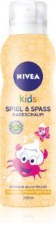 Nivea Kids Bio Aloe Vera doccia schiuma per bambini