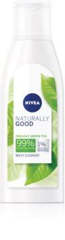 Nivea Naturally Good čistiace pleťové mlieko
