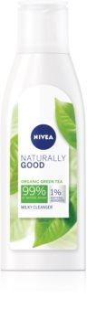 Nivea Naturally Good leite facial de limpeza