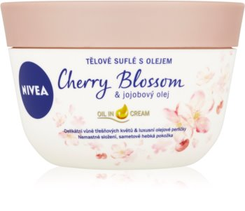 Nivea Cherry Blossom & Jojoba Oil Krops souffle