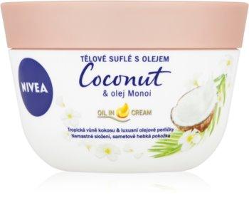 Nivea Coconut & Monoi Oil tělové suflé