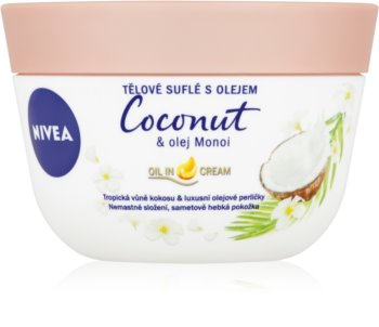 Nivea Coconut & Monoi Oil суфле за тяло