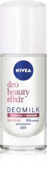 Nivea Deo Beauty Elixir Sensitive antitraspirante roll-on