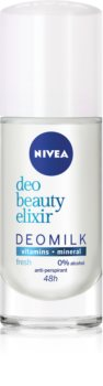 Nivea Deo Beauty Elixir Fresh deodorant roll-on antiperspirant 48 de ore