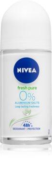 Nivea Pure & Natural desodorizante roll-on