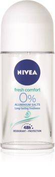 Nivea Fresh Comfort αποσμητικό ρολλ-ον χωρίς άλατα αλουμινίου  48 ώρες