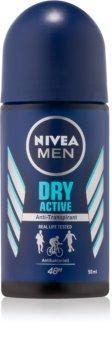 Nivea Men Dry Active roll-on antibacteriano