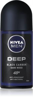 Nivea Men Deep Antiperspirant Roll-On 48 timer