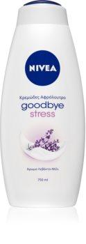 Nivea Goodbye Stress krémes tusoló gél maxi