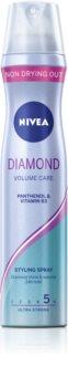 Nivea Diamond Volume laque cheveux pour donner du volume et de la brillance