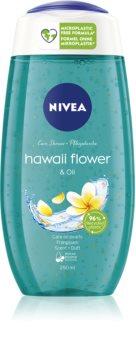Nivea Hawaii Flower & Oil душ гел  с микрочастици