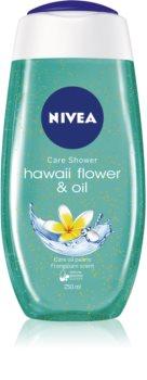 Nivea Hawaii Flower & Oil gel de duș cu micro-perle