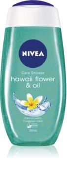 Nivea Hawaii Flower & Oil τζελ για ντους με μικρο-σφαιρίδια