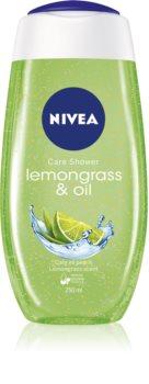 Nivea Lemongrass & Oil освежаващ душ гел