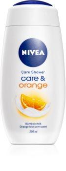 Nivea Care & Orange sprchový krém
