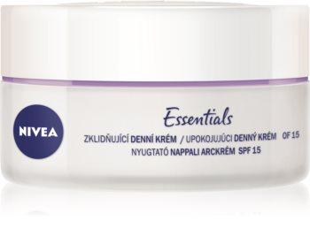 Nivea Face успокояващ дневен крем за чувствителна кожа на лицето