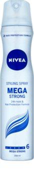 Nivea Mega Strong Hårspray Med extra stark fixering