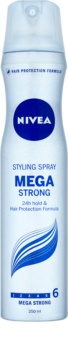 Nivea Mega Strong laca de cabelo com fixação extra forte